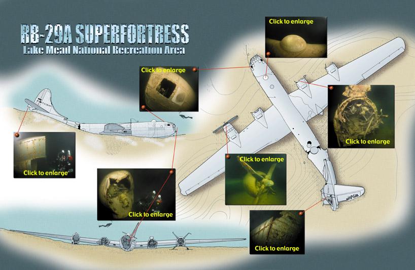 B-29 Super Fortress - Lake Mead • ADVANCED DIVER MAGAZINE • by Mel Clark